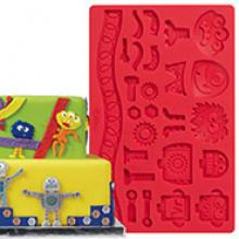robots monsters silicone mold